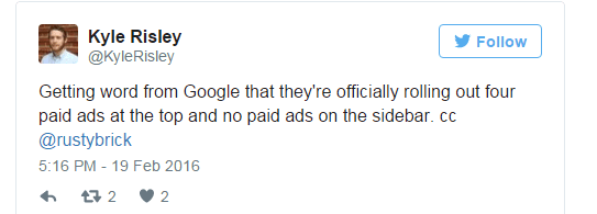AdWords Confirmed