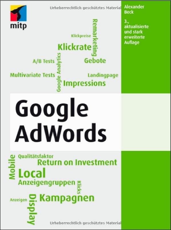 Google AdWords - Das Standardwerk