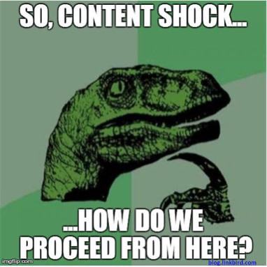 Was tun bei einer Content-Flut